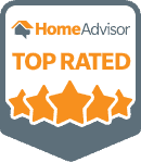Home Advisor Award For Being Top Rated