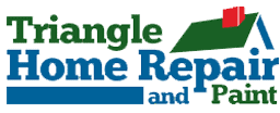 Triangle Home Repair and Paint Logo