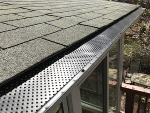 professional gutter guard installation